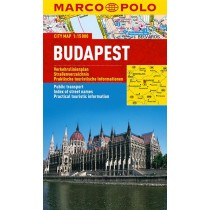 Marco Polo Plan miasta Budapeszt - skala 1:15 000