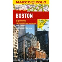 Marco Polo Plan miasta Boston - skala 1:15 000