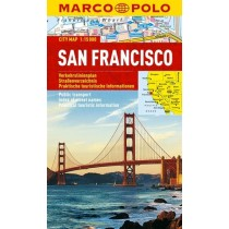 Marco Polo Plan miasta San Francisco - skala 1:15 000