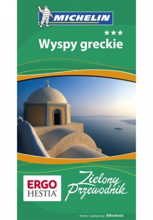 Michelin Wyspy Greckie Przewodnik PROMOCJA!