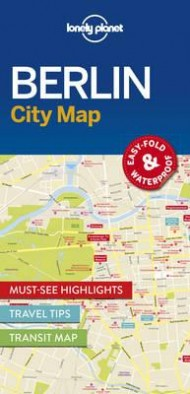 Lonely Planet Berlin City Map - Berlin Mapa