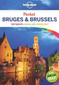 Bruksela Brugia Lonely Planet Bruges & Brussels Pocket Guide