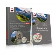 Pascal Inspirator podróżniczy Szwajcaria i Lichtenstein + MAPA