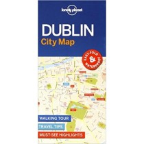 Lonely Planet Dublin City Map - Dublin Mapa
