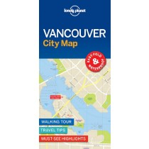 Lonely Planet Vancouver City Map - Mapa Vancouver