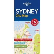 Lonely Planet Sydney City Map - Sydney Mapa