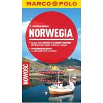 Marco Polo Norwegia Przewodnik z atlasem drogowym
